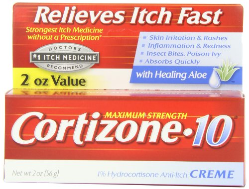 anti itch lotions and steroids