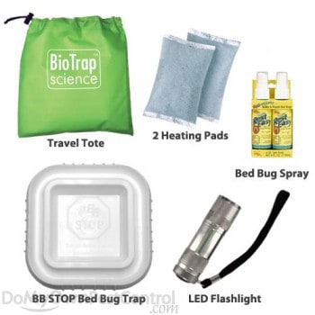 bed bug travel kit