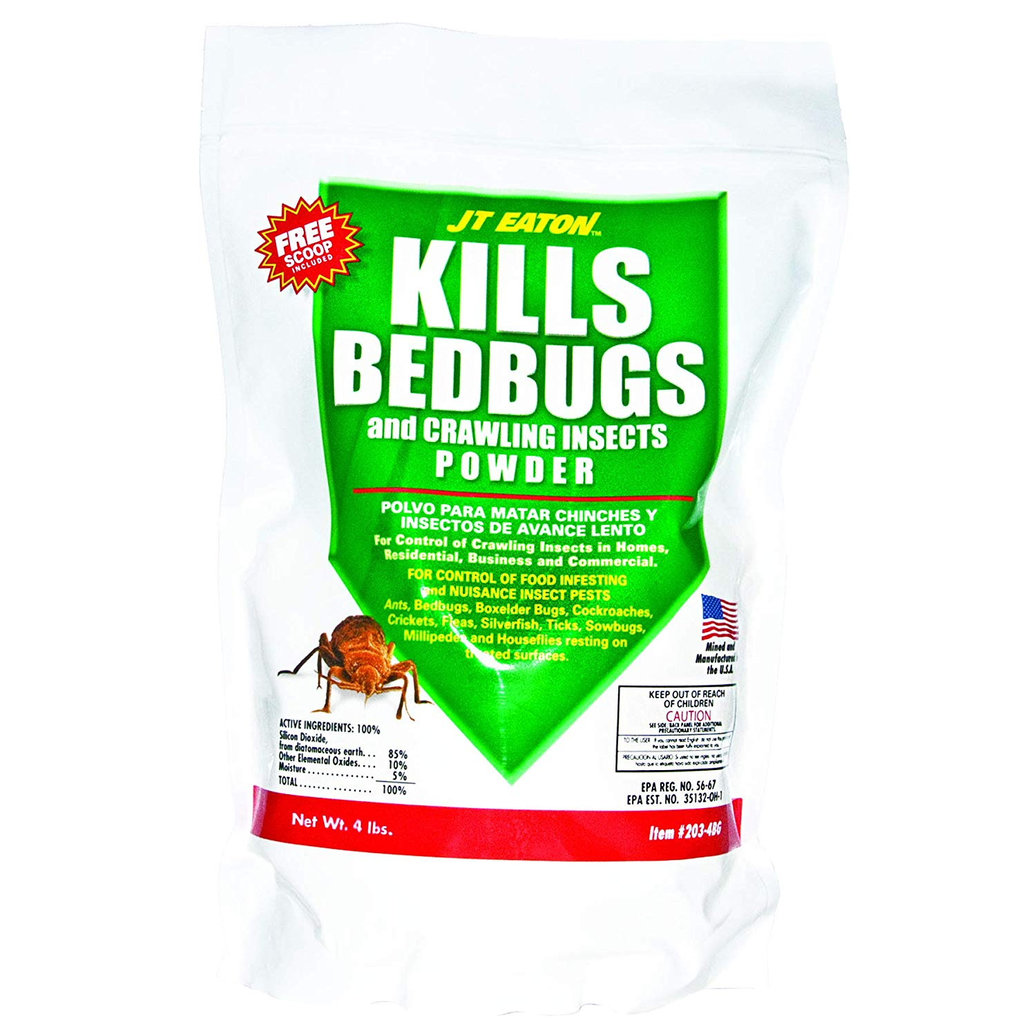 JT Eaton Bed Bug Powder